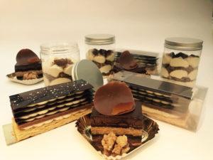 chocolade selectie take away Bye Traiteur AROMATE - Gardens of aromates - salle de fêtes feestzaal le grand salon - le palais de plume - the classic domaine - mariage communion