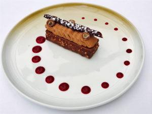 finger met caramel en valrhona chocolade Bye Traiteur AROMATE - Gardens of aromates - salle de fêtes feestzaal le grand salon - le palais de plume - the classic domaine - mariage communion