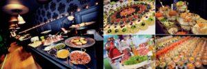 luxe gerechten voor mijn trouwfeest rond brussel Bye Traiteur AROMATE - Gardens of aromates - salle de fêtes feestzaal le grand salon - le palais de plume - the classic domaine - mariage communion