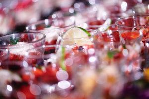 walking diner receptie glaasjes verrines Bye Traiteur AROMATE - Gardens of aromates - salle de fêtes feestzaal le grand salon - le palais de plume - the classic domaine - mariage communion